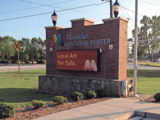 Mauldin Cultural Center is a major part of the Golden Strip arts scene.