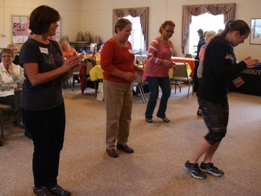Zumba Gold at Millville Woman's Club