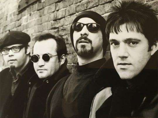 A classic shot of the Smithereens: From left: Dennis Diken, Jim Babjak, Pat DiNizio and Mike Mesaros.