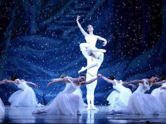 "NJ Ballet performs ""The Nutcracker"" at bergenPAC."