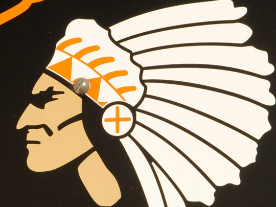 This Mishicot High School, Indians logo no longer is used.