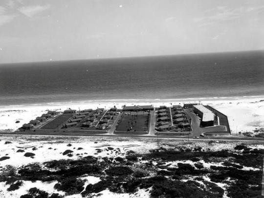 Silver Beach Motel, circa 1960.