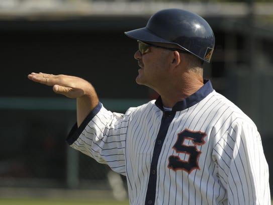 Jody Allen is the head coach of the COS Giants baseball
