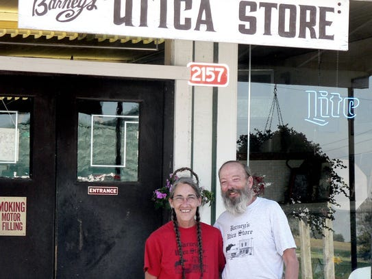 Jackie Sperle and Barney Lambert  in 2005, when they