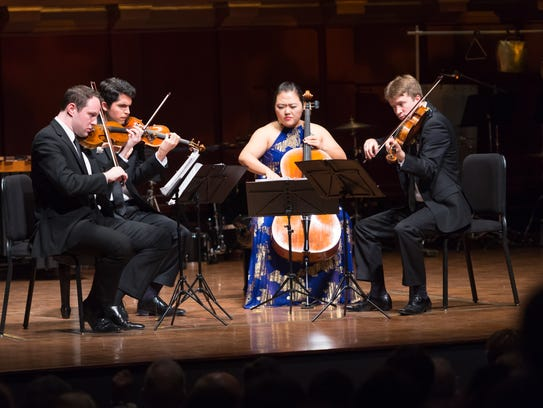 The Calidore String Quartet won the $100,000 grand