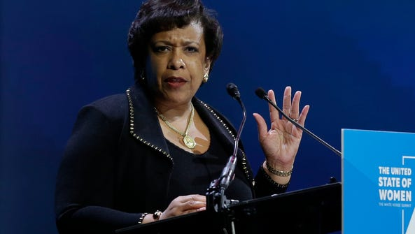 Attorney General Loretta Lynch will appear on all five