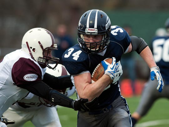 Making the move from running back to quarterback, Carson Leary should key an Otter Valley team motivated to avenge last year's Div. III title game loss.