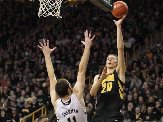 NCAA Basketball: Notre Dame at Iowa