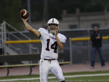 Turpin QB Bennie Stoll has led the Spartans to a 3-0 record entering Friday.