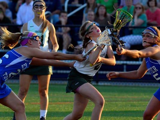 PHOTOS: York Catholic vs Exeter in District 3 girls lacrosse
