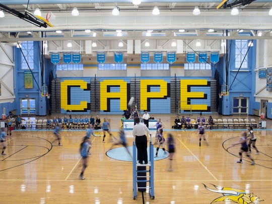 Cape Henlopen takes on St. Thomas More in October 2014. The Vikings have announced the new head coach for the 2015 season will be Tyler Coupe.