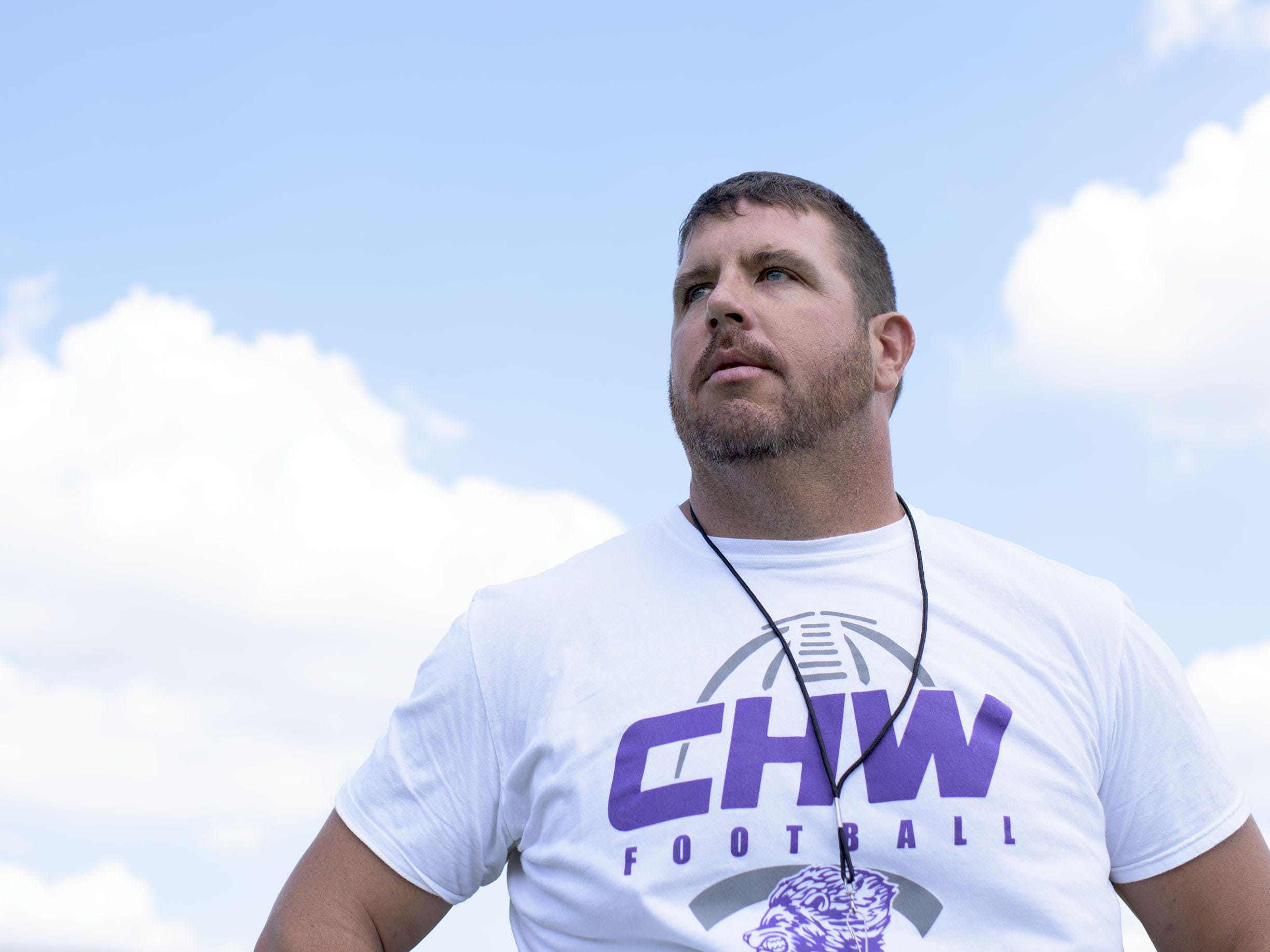 Cherry Hill West head coach Brian Wright