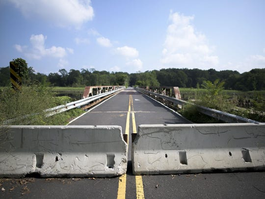 The Centerton Road Bridge in Mount Laurel may never reopen to vehicular traffic. A decision should be made soon.