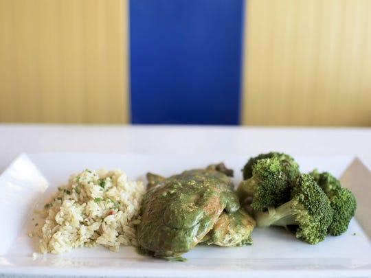 Pesto Chicken is a winner at Mugshot Diner in Philadelphia.