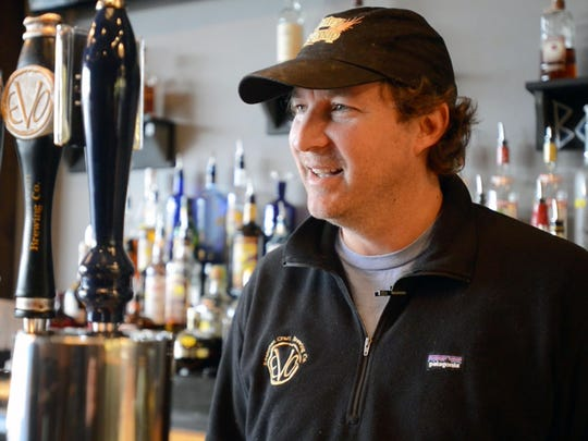 Tom Knorr, co-owner of Evolution Craft Brewing Company in Salisbury, said it's a goal to help other craft breweries.