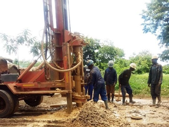 A well is being constructed in Malawi after a group of six teenage girls in Kohler raised funds to build it.