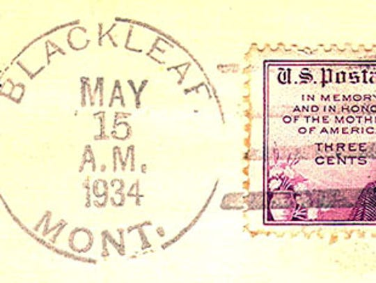 The Blackleaf post office was closed in 1936. The Blackleaf
