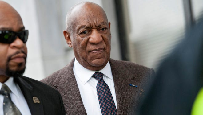 Bill Cosby enters the Montgomery County (Pa.)  Courthouse on Feb. 3 for a hearing on charges stemming from an alleged sexual assault in 2004 in suburban Philadelphia.