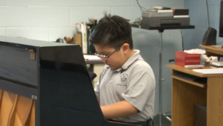 Phan, 9, will be playing at Carnegie Hall in New York.