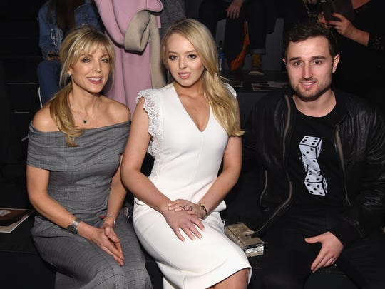 Marla Maples, Tiffany Trump, and Ross Mechanic at the