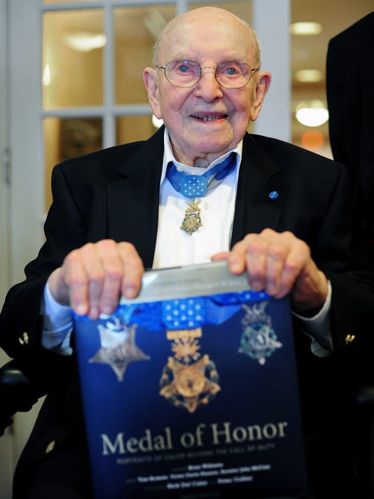AP Obit-Medal of Honor Winner