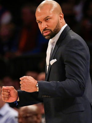 The New York Knicks have fired coach Derek Fisher.