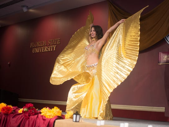 Dancers performed group and solo acts at the annual