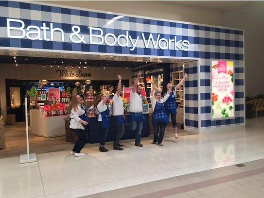 Bath&Body Works Friday celebrated their new location