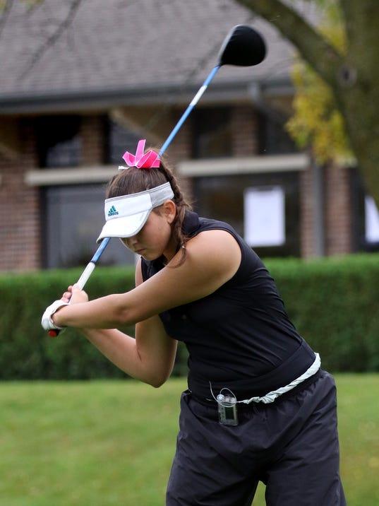 Franklin Girls Golf--Matschke
