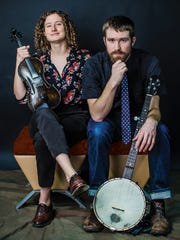 The Michigan duo Red Tail Ring plays Saturday at the Ripton Community Coffeehouse.