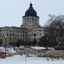 The State Capitol in Pierre