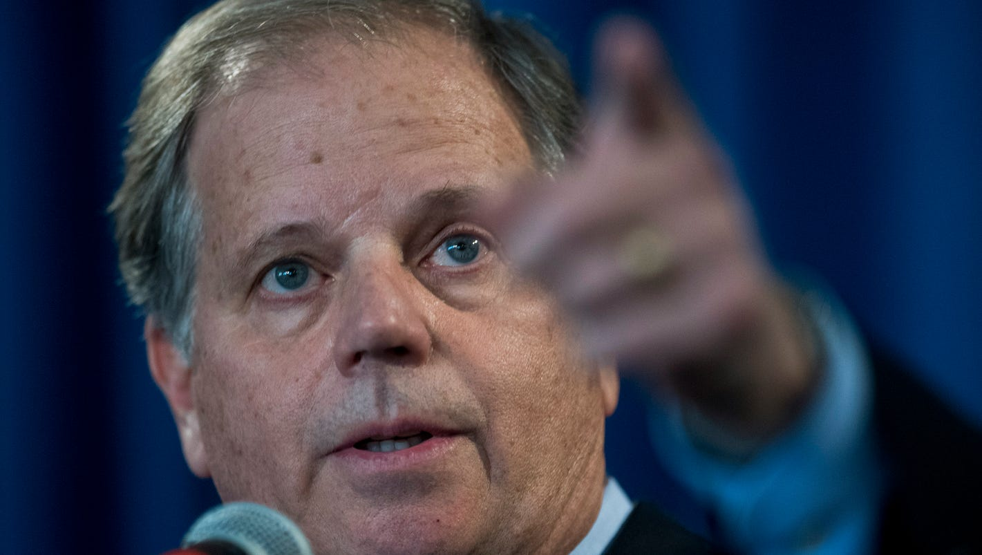 Doug Jones holds day after election press conference