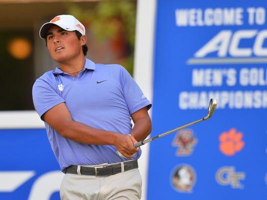 NCAA GOLF:  APR 23 2016 ACC Men's Golf Championship