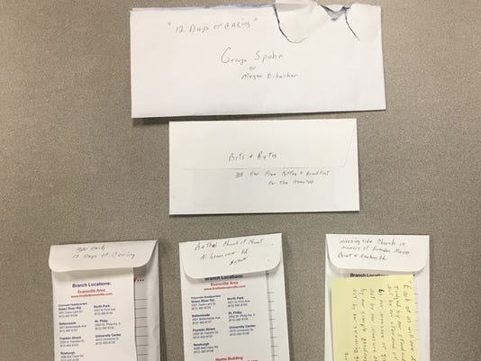 Mr.G 2017 envelopes