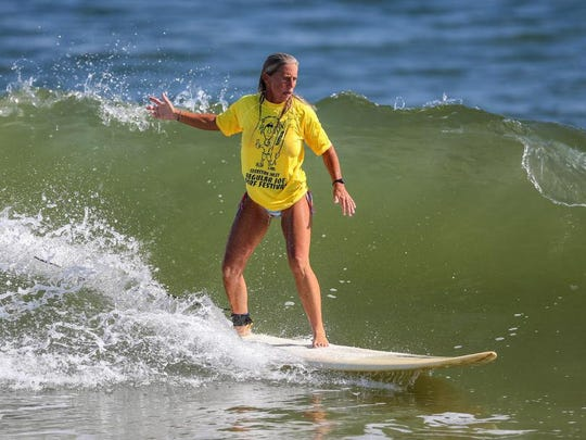 Lori Bray is looking forward to the Regular Joe's surf
