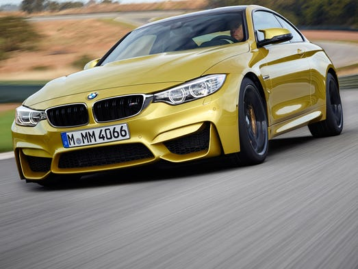 The BMW M4 aims for speed