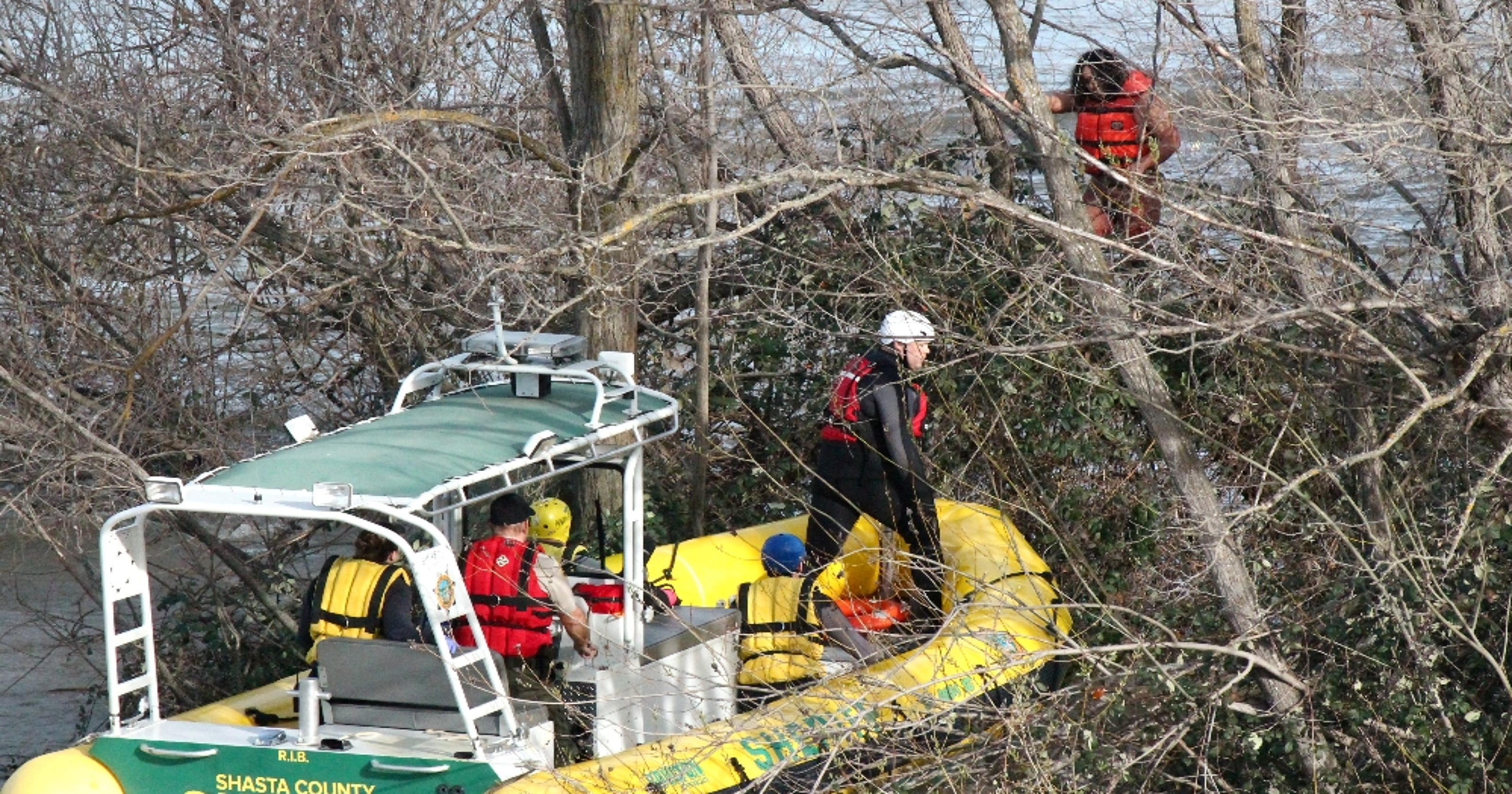 Update Man Rescued From Sacramento River On Parole High On