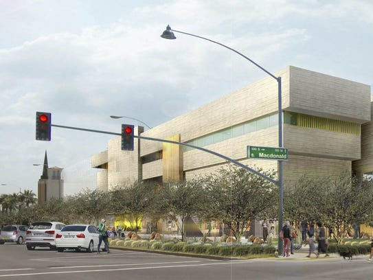 Another view of the proposed Barry and Peggy Goldwater