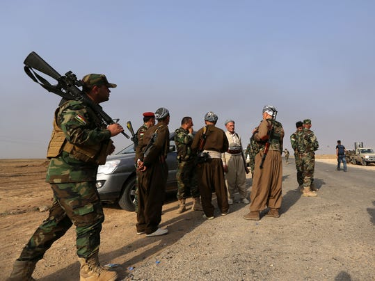 Kurds Waiting for Weapons
