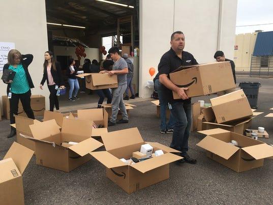 Amazon gifts $230,000 to STEM programs