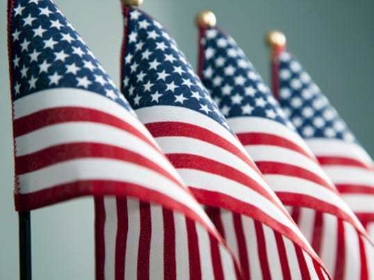 STOCKIMAGE-AmericanFlags
