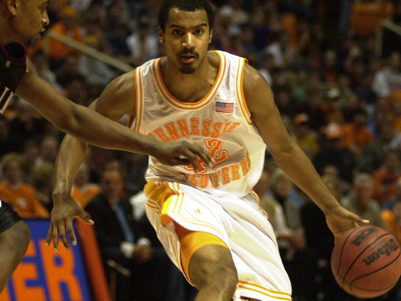 Tennessee guard Jon Higgins during a game against South Carolina in 2003.