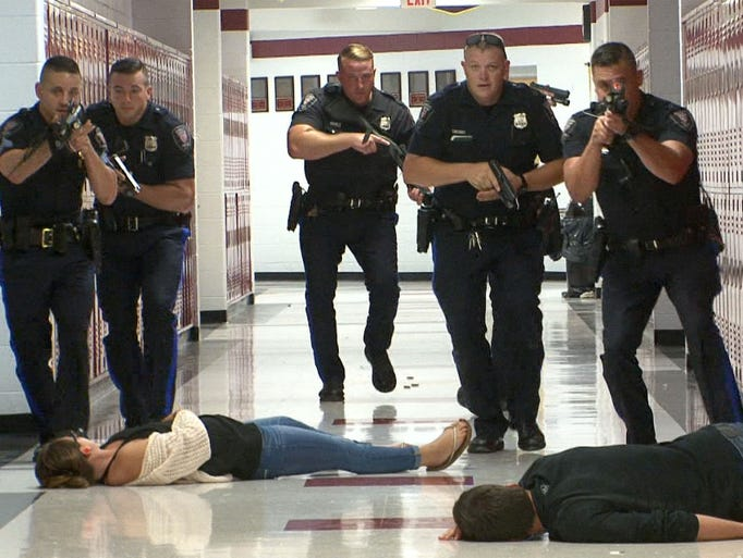 Active shooter drill held at Central Regional HS