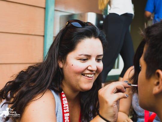 Chante Gonzalez Vido, a two-time cancer survivor, is
