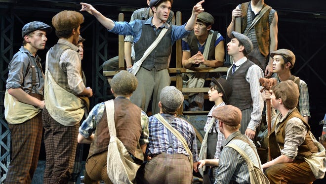 """Newsies,"" the Disney musical based on the 1992 movie of the same time, arrives at the Detroit Opera House in December."