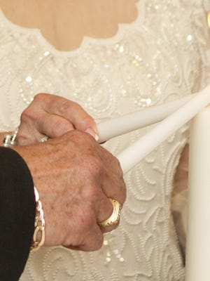 Hundreds of retirees give their insights on what makes a happy marriage in a new book.