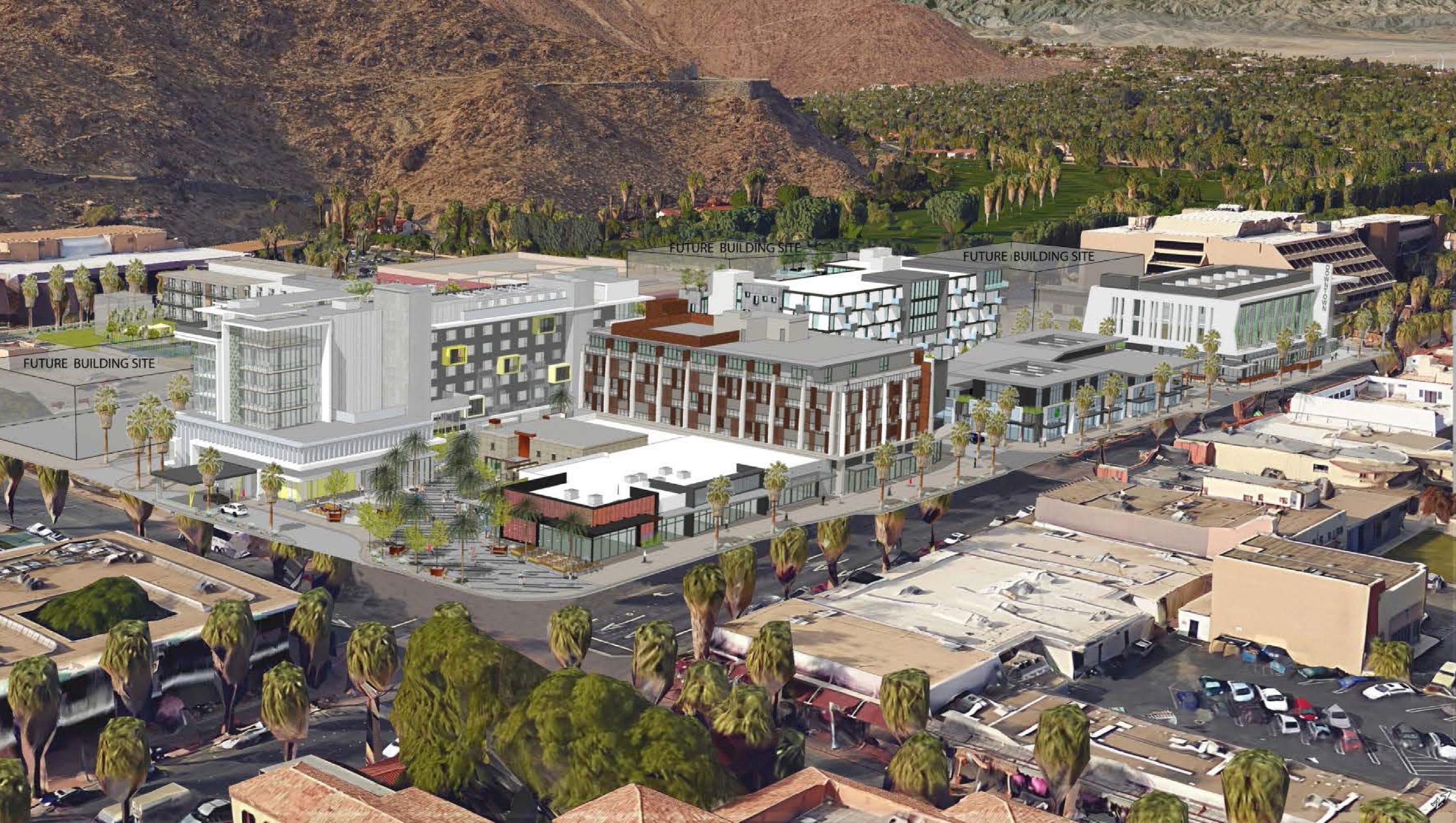 Developer seethes as Palm Springs tweaks downtown plan