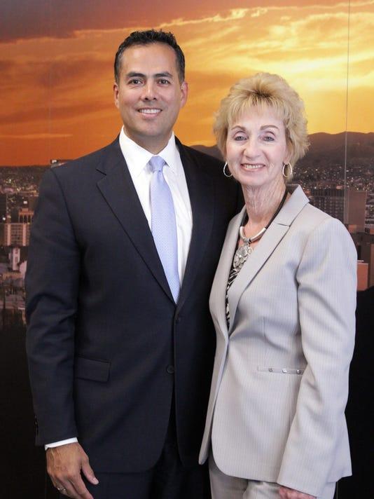 Tommy Gonzalez and Joyce Wilson