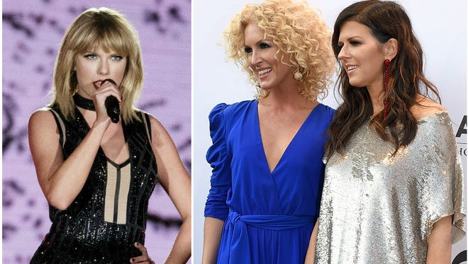 """That """"young girl from Nashville"""" who wrote Little Big Town's new single? It's Taylor Swift."""
