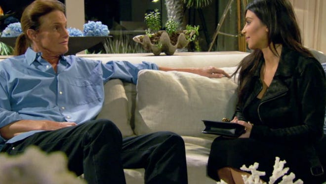 """A screen grab from Sunday's special, """"Keeping Up With the Kardashians: About Bruce."""""""